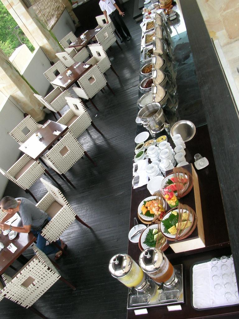 Sky Terrace breakfast
