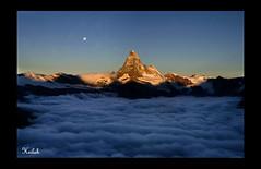 matterhorn's sunrise 2 (Heilah Alnasser) Tags: mountain alpes sunrise schweiz switzerland nikon nikond100 summit zermatt valais altitude4478m summitmatterhorn heilah nikkor1870f3545