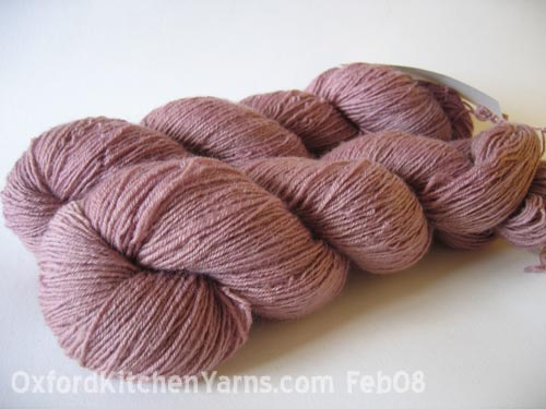 Oxford Kitchen Yarns Sock Yarn: Light Plums