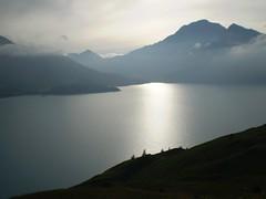 Lac du Mont Cenis, France (paolotode) Tags: sunset lake france alps water montagne alpes lago eau lac thealps alpi francia coucherdesoleil moncenisio montcenis aqcqua