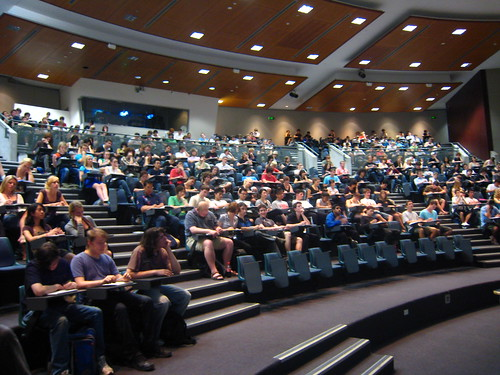 Today's lecture by Andrew Scott, on Flickr
