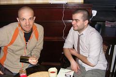 Bobby Voicu si Darius Groza