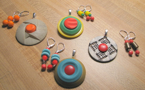 vintage bead/button sets