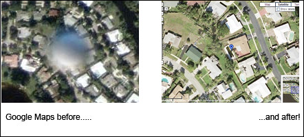 Florida UFO on Google Map