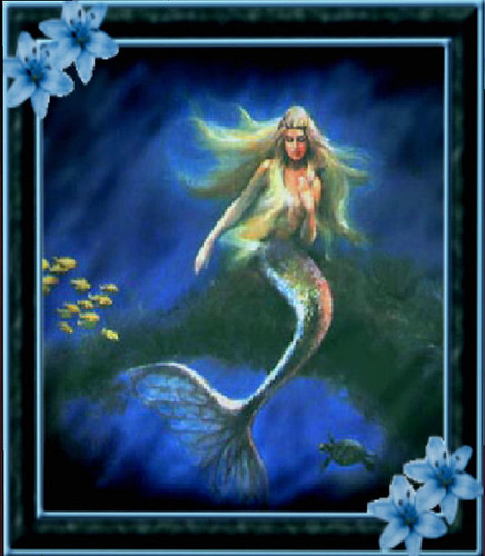 beautiful mermaid Graphics Myspace