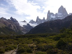 Fitz Roy - trek - vallee - sommets