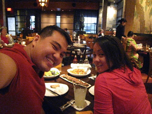 Birthday dinner at P.F. Chang's Chinese Bistro