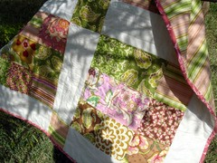 summer small quilt partial shade