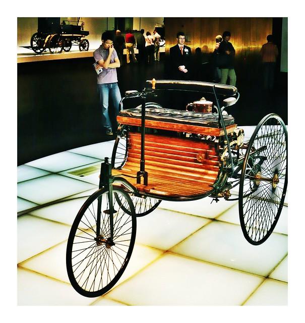 Patent-Motorwagen, Patent, Motorwagen,1886, Mercedes-Benz, Karl Benz,
