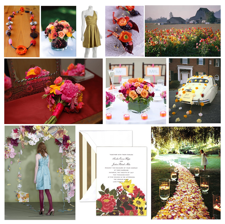 Wild Flower Party / Wedding Theme
