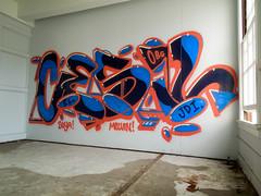 (gordon gekkoh) Tags: cesil oakland graffiti eastbay