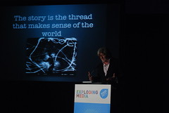 Bill Thompson of the BBC speaks on the place of the story in the digital arena