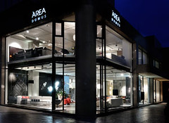Area Domus New Showroom | Thessaloniki (Area Domus) Tags: window design furniture area domus kartell moroso arper  epipla     epiplo  areadomus
