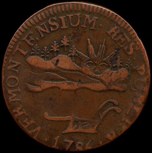 Vermont copper coin 1786