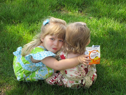 Snack in the grass :-)