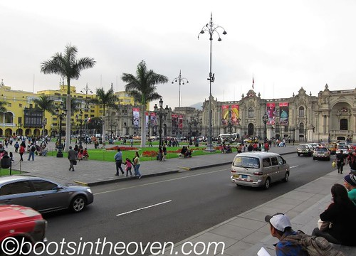 Plaza de Armas and the Palacio del Gobierno