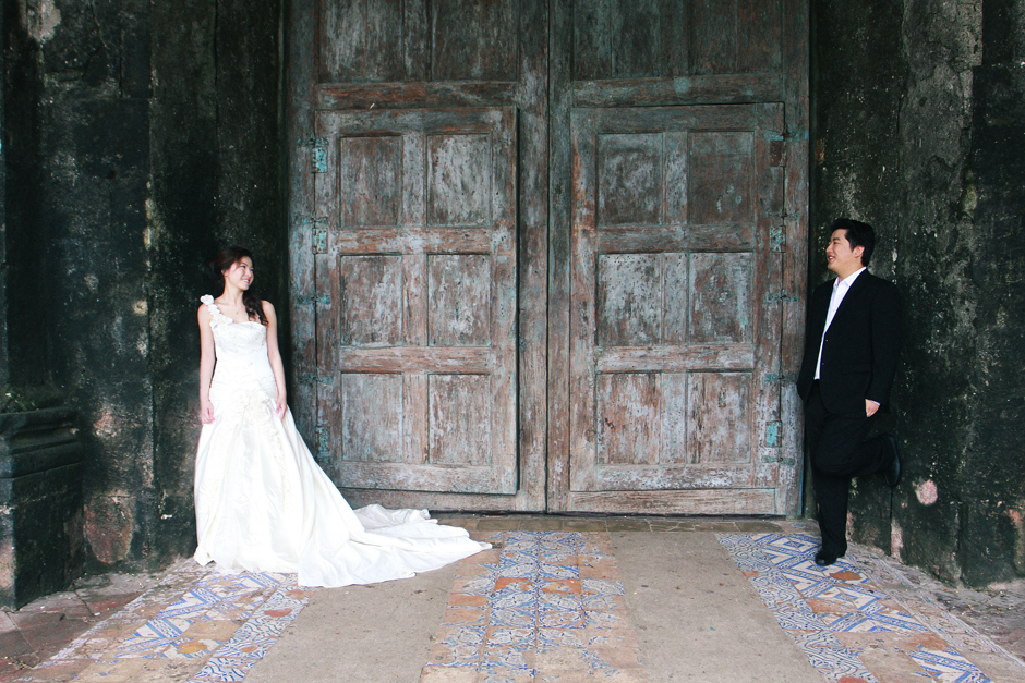Baclayon Church Engagement, Bohol Philippines