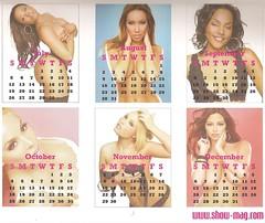show magazine calendar4