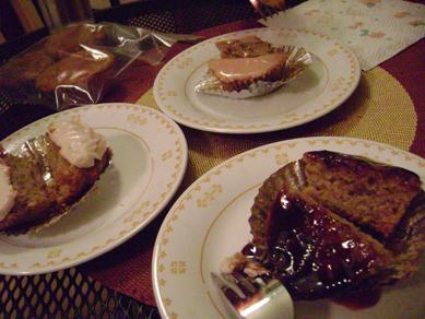 poached pear cupcake II