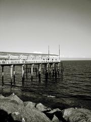 Muelle (Constanza Villalobos.) Tags: chile sea water muelle mar puertomontt lasfotosdekona