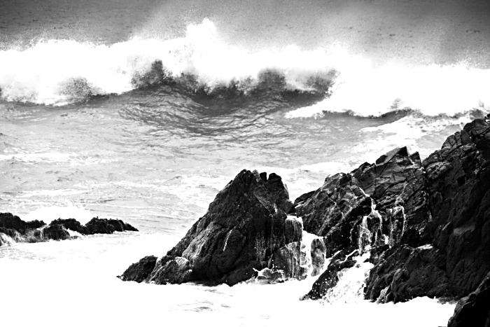 The waves at Couminole