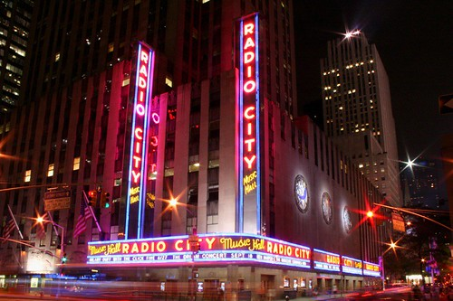 Radio City Music Hall Night