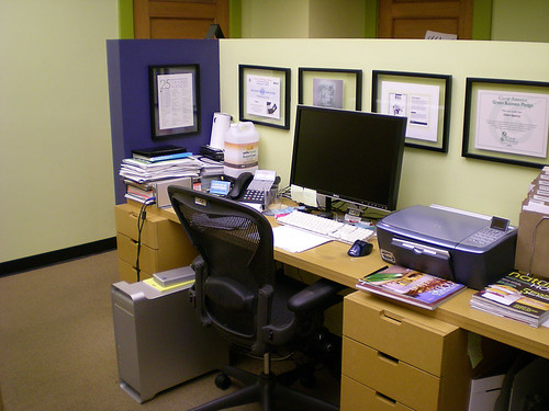 my workstation @ clean agency (2006-2008)