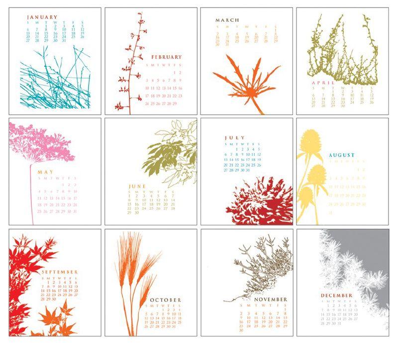 Calendar Round Up 2008: Part One