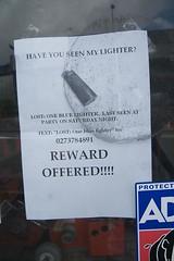 Reward Offered - by wonderferret
