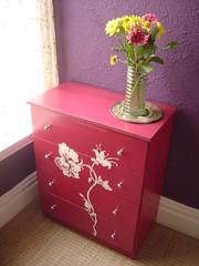 Ideas  Painting Kitchen Cabinets on Ideas For Painting Furniture   Zimbio