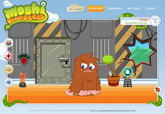 Moshi Monsters - Fred's house, post bling