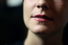 she talks (morning lord) Tags: portrait face closeup lips crop cropped ritratto bocca diecicentopeople morninglord 021207 chiara9679 10100lacorrida davidegreco