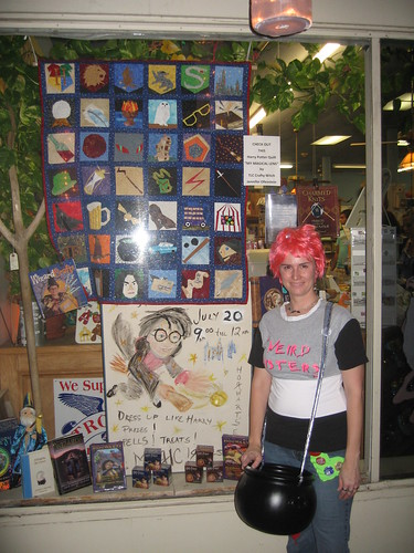 HP Quilt @ Hill Country Bookstore