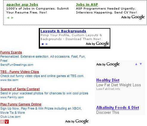 Google AdSense Gains Scroll Arrows, Lets You Slide New Ads