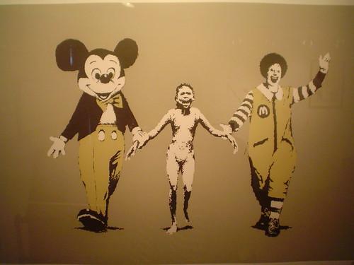Banksy exhibit, Vanina Holasek Gallery