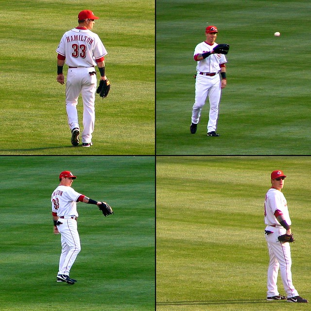 Josh Hamilton, #33, Center Fielder