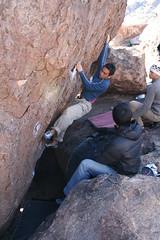 Big Dick Jim (jonketo) Tags: texas bouldering rockclimbing hueco eastmountain