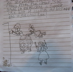 Sagas of Miss Finch 10 (rasputina2) Tags: childsart playacting childsdrama