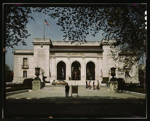 Front view of the Pan American Union, Washington, D.C. (LOC ...