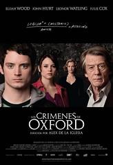 """Póster de """"Los crímenes de Oxford"""" Alex de la Iglesia"""