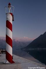 Light The Way (cokanj) Tags: sea lighthouse tourism port docks bay dock marine europe gulf dusk balkans montenegro turizam 5photosaday vugdelic marijavugdelic