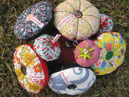 My pin cushions - click to link to all pictures of my pin cushions!