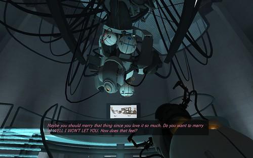 Valve Portal GlaDOS
