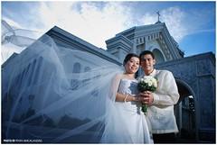 Philip & Dalla - Church Facade Landscape (Ryan Macalandag) Tags: dahlia wedding people church groom bride bohol protrait philip tagbilaran matrimony nikond80 ryanmacalandag