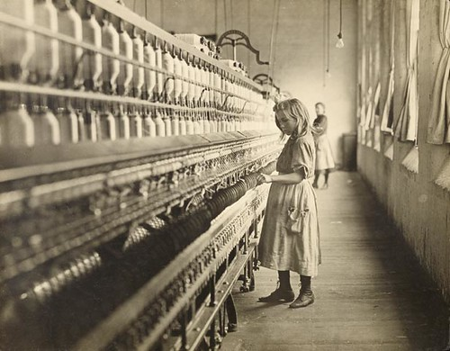 Child in Spinning Mill 1908