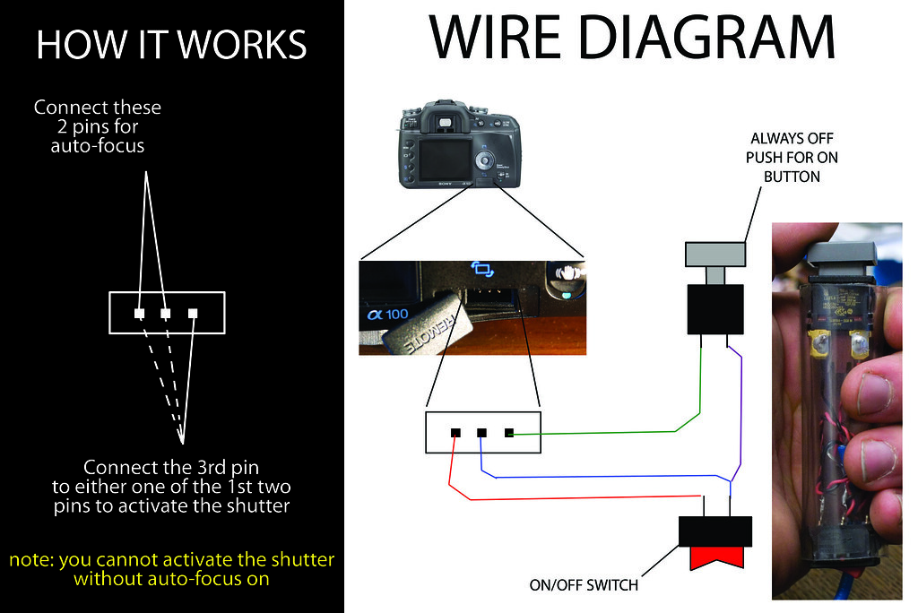 The worlds best photos by bradjustinen flickr hive mind diy homemade sony alpha wired remote wire diagram bradjustinen tags diy wire sony cheapraybanclubmaster Image collections