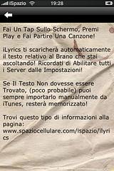 ilyrics 0.3-2 ispazio