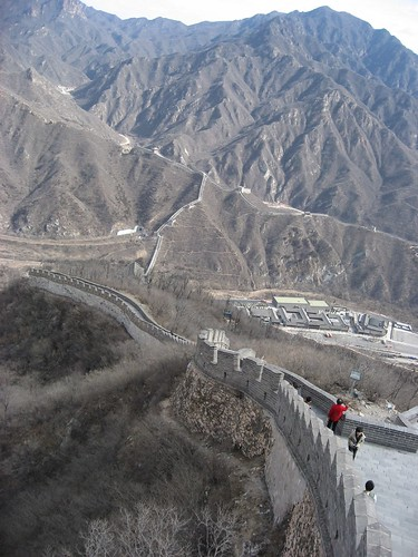 Great Wall..'snaking' thru the rugged mountains..