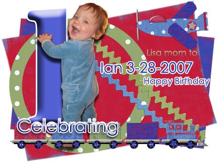 Ian first Birthday Sig