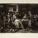 1879 William Unger, etching after Jan Steen's Driekoningenfeest
